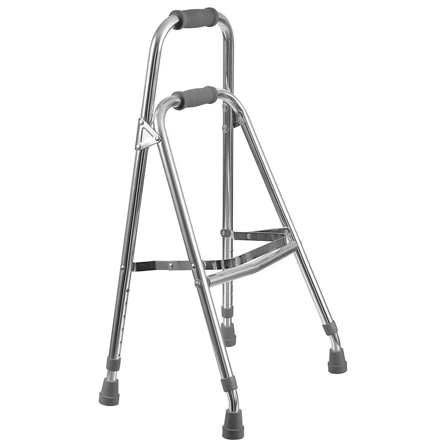 Duro-Med Folding Hemi-Walker provides Support, Aluminum, Silver by Duro-Med