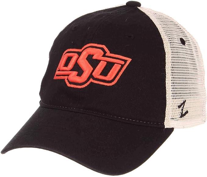 NCAA Zephyr Oklahoma State Cowboys Mens Jock Snapback Hat Adjustable Gray//Team Color