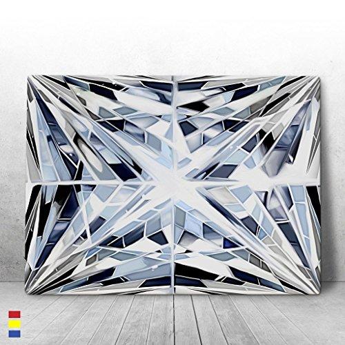 Canvas Cultures Diamond Cut Motivational wall Canvas Art - Premium Materials - USA Made (40W x 30L)
