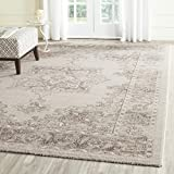Cheap Safavieh Carmel Collection CAR272B Vintage Oriental Beige and Brown Area Rug (5'1″ x 7'6″)