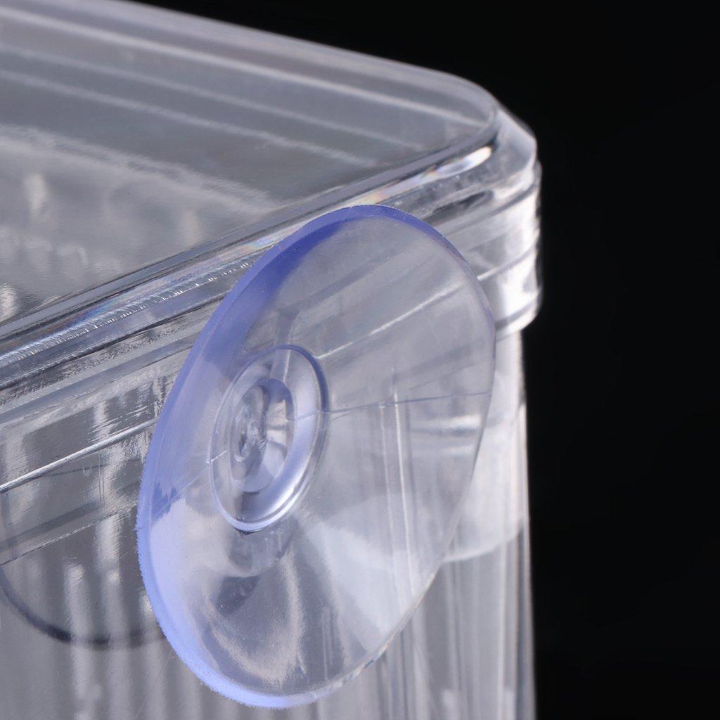 Doble Aislante Incubador de Acuario para pecera Caja separadora para cr/ía Tandou