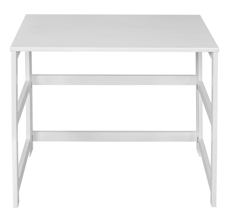 Regency FFDSK3121WH Flip Flop Folding Desk, 31-inch, White