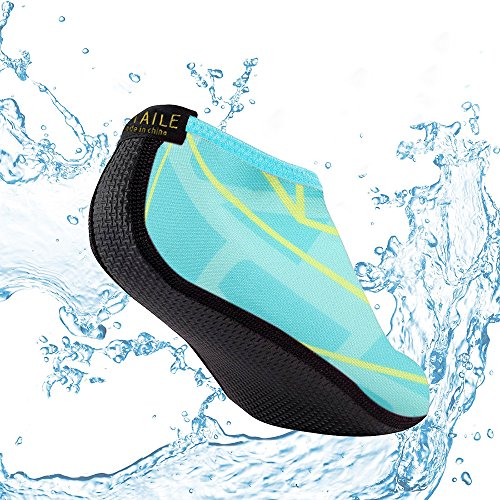 Socks Sand Park Shoes Green1 Rocks for Aqua Against Protects Anti Mens Walking Water Slip Water Beach Womens YB66xq