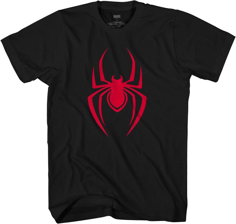 Marvel Spiderman Spider-Man Symbol Logo Adult T-Shirt