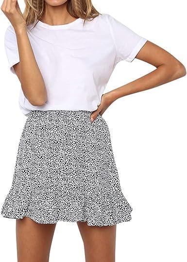 Falda Mujer de Gasa El Verano Faldas Mujeres 50s Retro Rockabilly ...