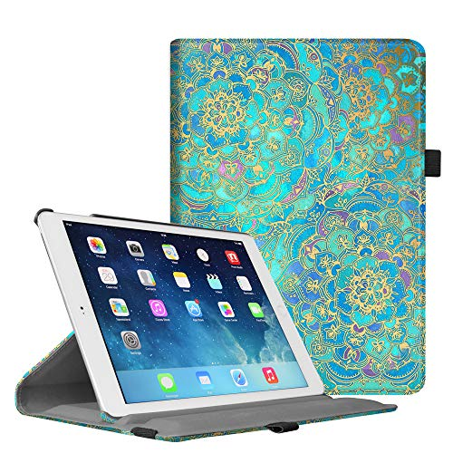 Fintie iPad Mini 1/2/3 Case - Multiple Angles Stand Case with Smart Cover Auto Sleep/Wake Feature for Apple iPad Mini 1 / iPad Mini 2 / iPad Mini 3, Shades of Blue