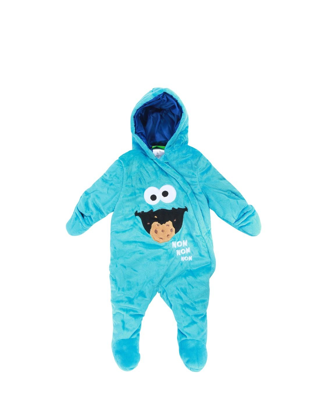 Sesame Street Boys Baby Newborn Heavyweight prams (3-6 Months, Cookie Monster(Blue))