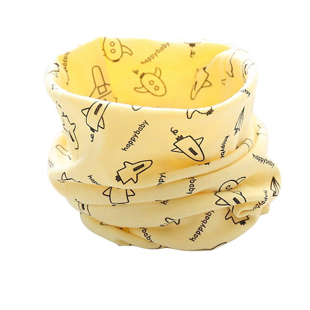 Butterme Sciarpe calde del cotone del bambino del bambino dei bambini Ragazzi dei ragazzi Sciarpa Sciarpa Halstuch inverno per il bambino infantile Unisex 1-3Y