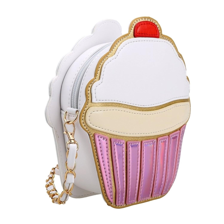 queenfashion cute cartoon women ice cream cupcake