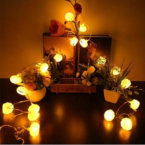 10 LED Halloween Pumpkin String Lights LED Fairy Light Battery Operated Decor UK