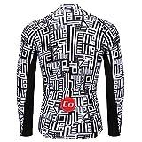 Coconut Ropamo Men's Long Sleeve Cycling Jersey
