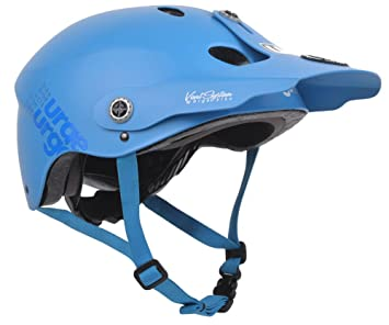Urge All-M - Casco, Color Azul Mate, Talla S-M (54-