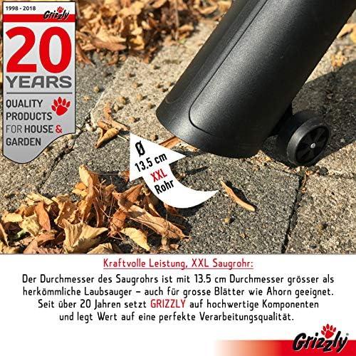 Grizzly eléctrico Aspirador soplador ELS 3027, 3 en 1, burbujas ...