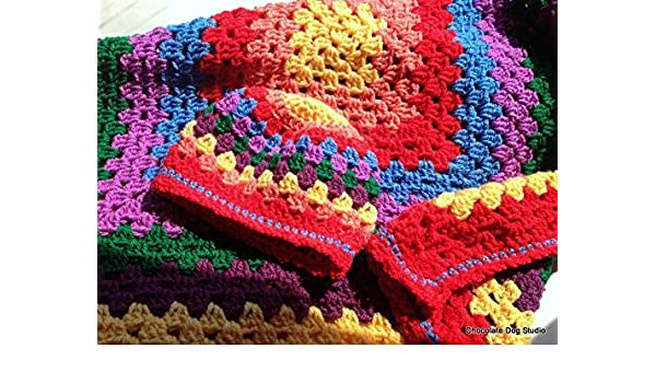 Amazoncom Rainbow Baby Blanket And Newborn Cap Crochet Baby
