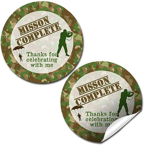 Circle Sticker Tin-Thanks