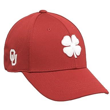 Black Clover Red White University of Oklahoma Premium Fitted Hat - S ... 152c88b600c
