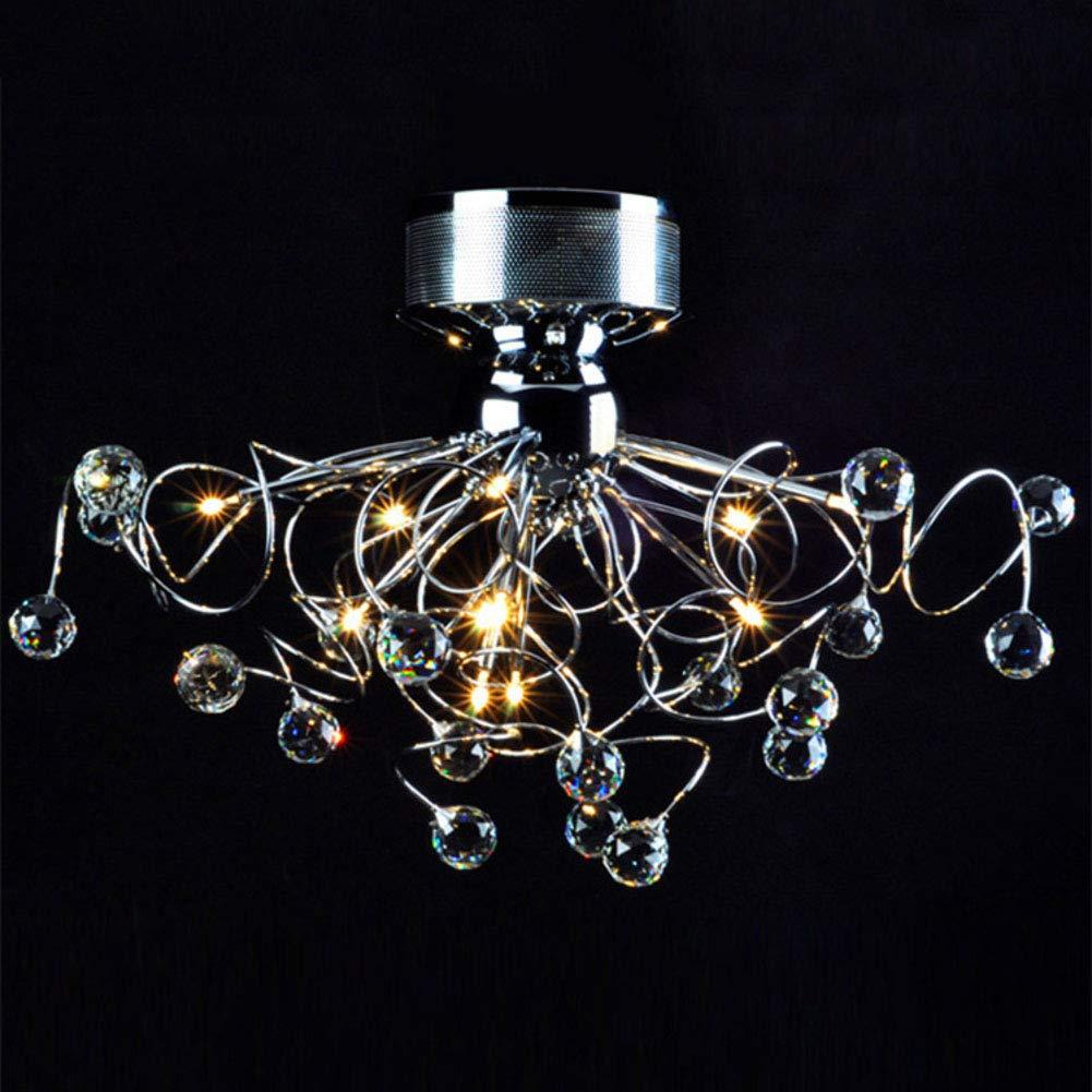 CCSUN Lámpara De Techo De Cristal Led,G4 12v 20w Lámpara ...