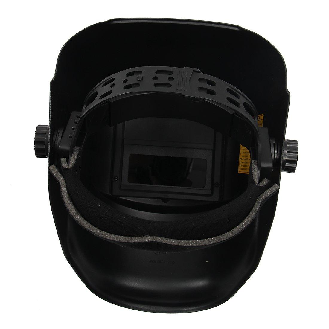 Casco de soldadura - SODIAL(R)Casco de soldadura de oscurecimiento automatico solar TIG MIG Soldador Mascara de pulido de lentes: Amazon.es: Bricolaje y ...