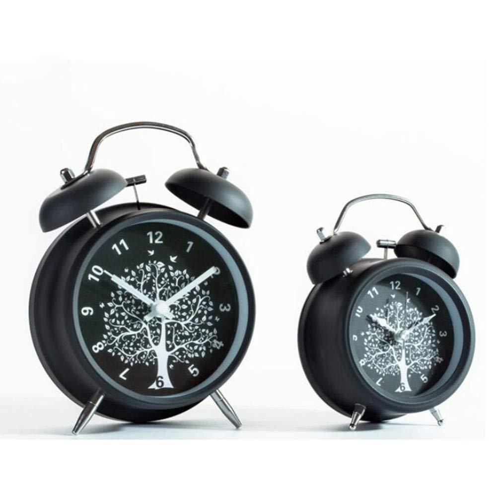 LZ Despertador Simple y Elegante Campana Doble Llamada de ...