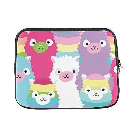 2f8c8dc7caba Amazon.com: InterestPrint Cute Llama Alpaca Family Funny Animal ...