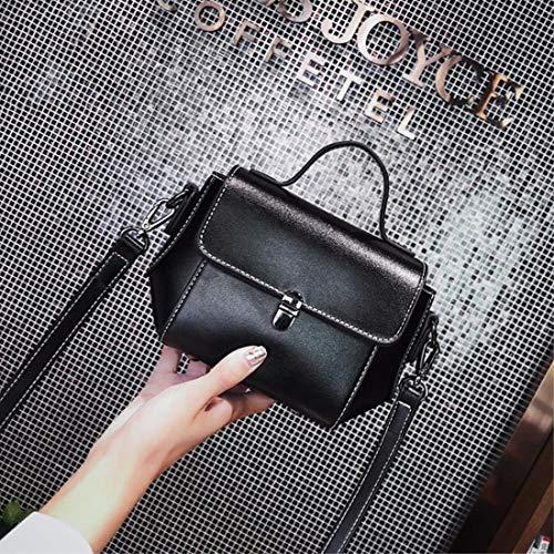 Hombro Elegante Mujer Bag Negro Fannb Bolso Tide Messenger New Minimalista gWYUg6wqvn