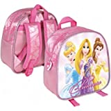 Disney Princess small Backpack for girls pink, 21 cm