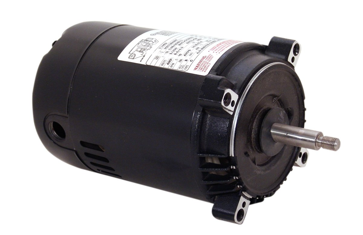A.O. Smith T1102 1 HP, 115/230 Volts, 16.2/8.1 Amps, 1.4 Service Factor, 56J Frame, CCWPE Rotation Jet Pump Motor
