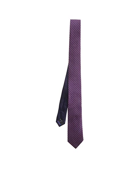Missoni Mens Cr7asmu68582 Purple Silk Tie