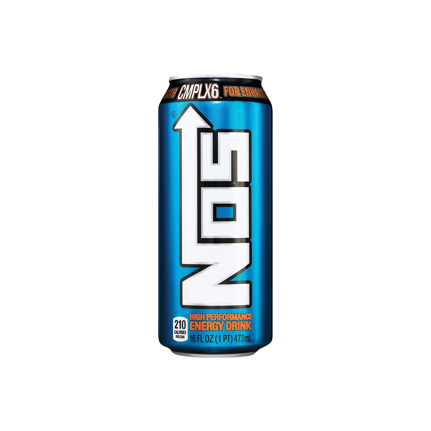 Nos High Performance Energy Drink, 16 Ounce (24 Cans)