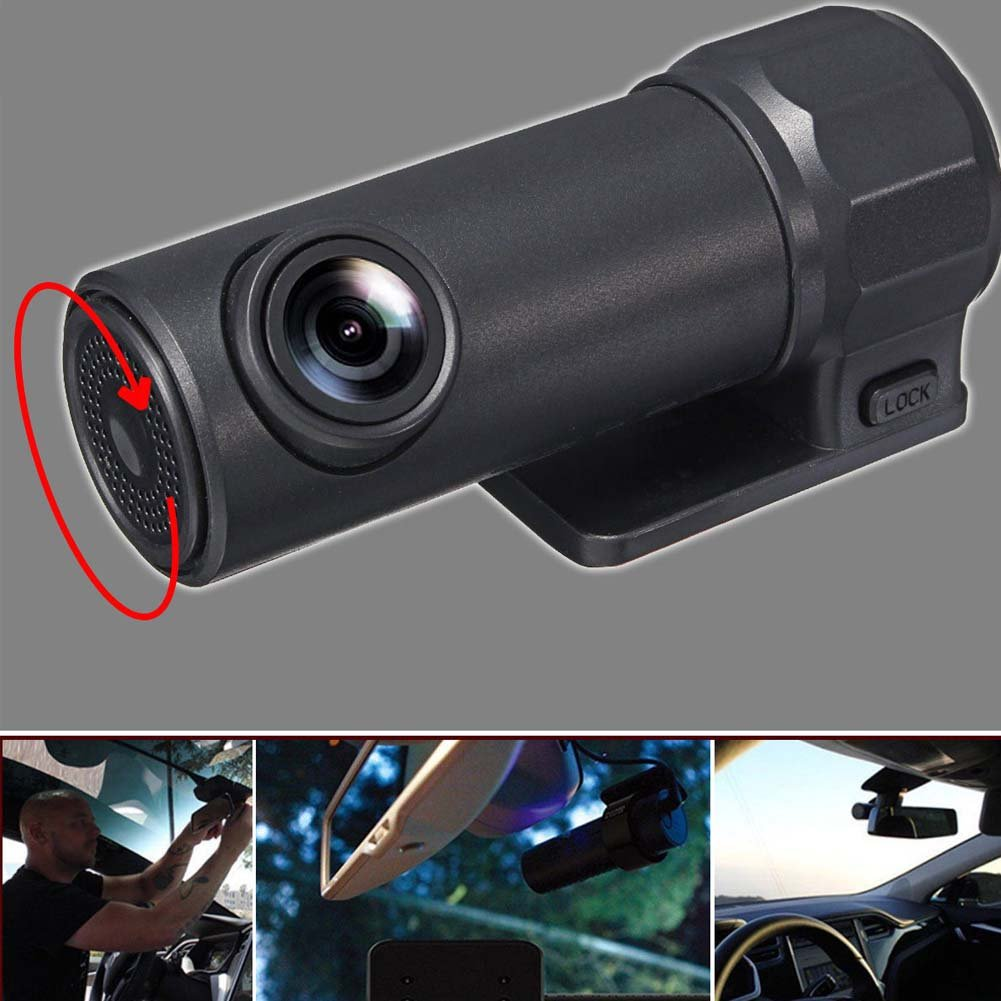 WiFi Dash Cam 170 Degree Vision Dash Camera Video Recorder APP Control Monitor Hinmay Mini 32G 1080P Full HD 12MP WiFi Car DVR Video Camera Recorder
