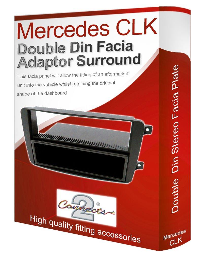 Mercedes Benz CLK Radio st/ér/éo adaptateur Fa/çade dautoradio fa/çade dautoradio panneau plaque//CD