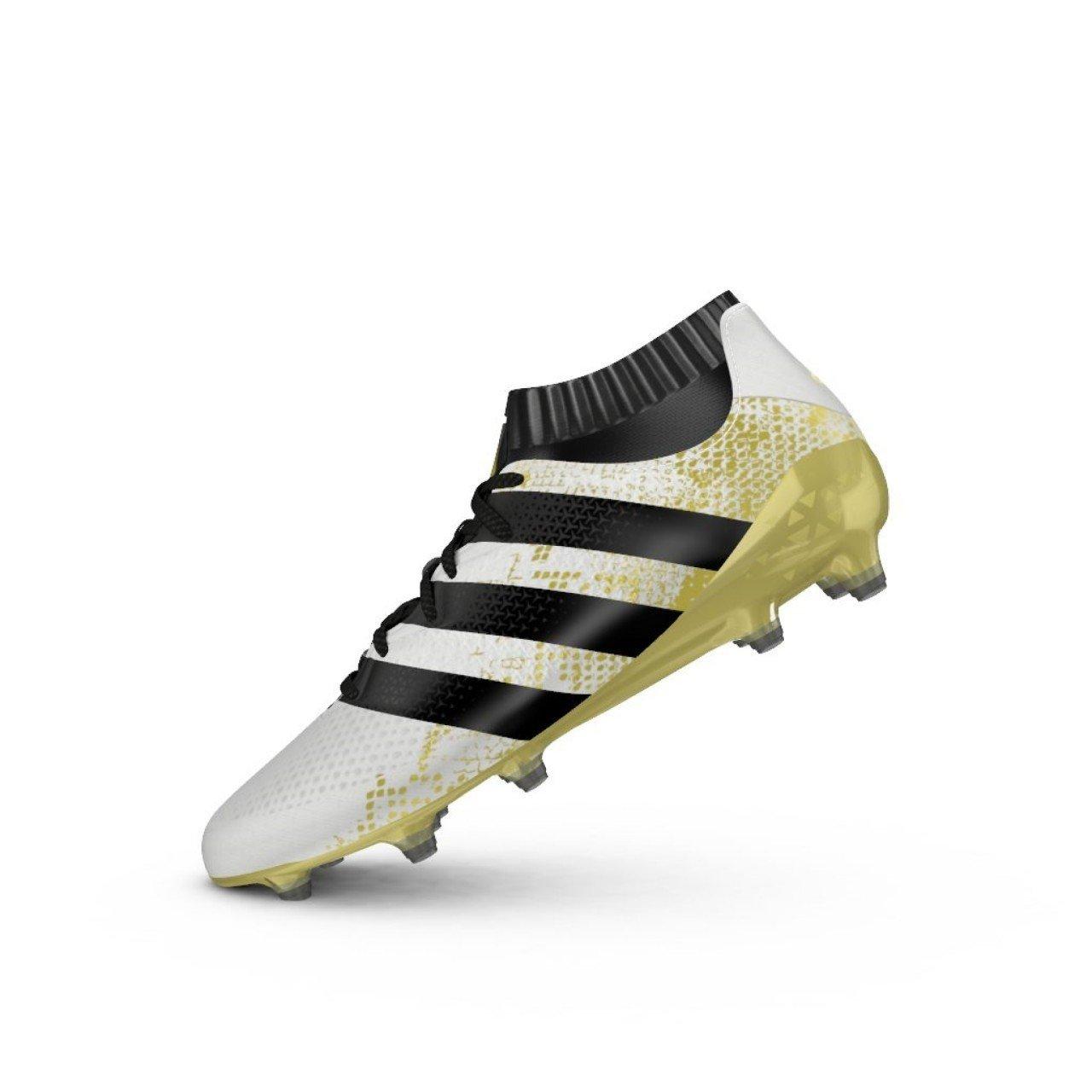 Adidas Ace 16.1 Primeknit FG - Fußballstiefel - Herren, Weiß, 48