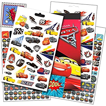 Disney cars 3 stickers over 295 disney cars stickers bundled with specialty separately licensed gww