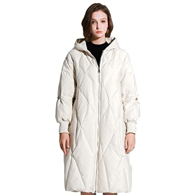 7cd113ec5 Macmaxmode Women's Waterproof Long Down Parka Relaxed fit Thicken Puffer  Hooded Winter Coat