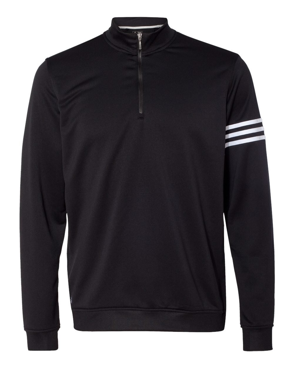 Adidas Mens ClimaLite 3-Stripes Pullover (A190) -BLACK/WHIT -4XL by adidas
