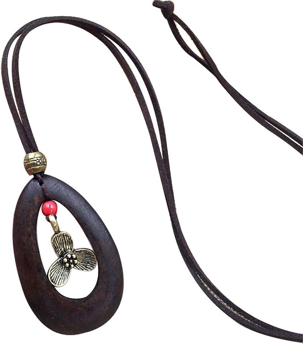 Les umes Collier pour femme style ethnique vintage avec pendentif oiseau