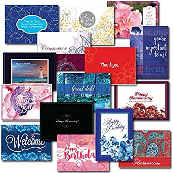 Employee Appreciation Greeting Card Assortment This 30 Box Set Encourages Loyalty And Teamwork Includes Birthday Get Well Anniversary