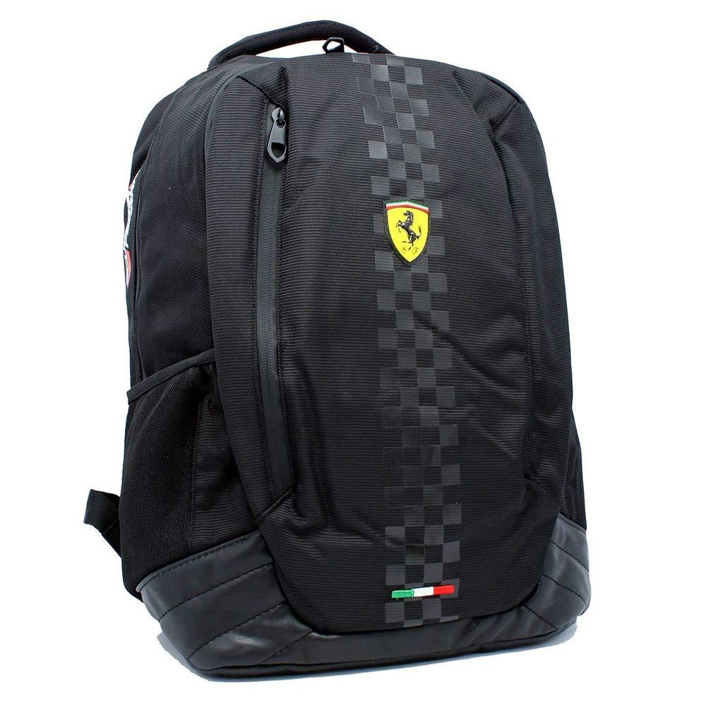 Ferrari 2018 Scuderia F1 Formula One Backpack Rucksack Sports Shoulder Bag Black Scuderia Ferrari