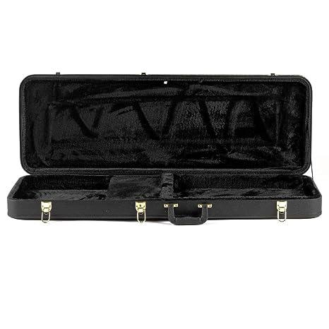 Ashbury CG-020-E - Estuche para guitarra eléctrica, color negro ...