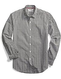 Men's Standard-Fit Long-Sleeve Gingham Shirt