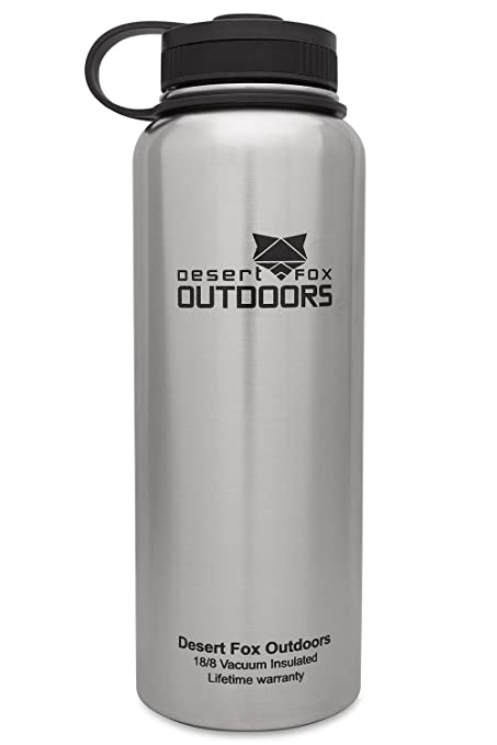 be0375f6e5 Image Unavailable. Image not available for. Color: Desert Fox 40oz Vacuum  Insulated Water Bottle