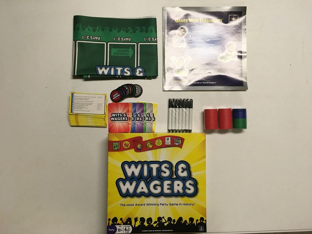 North Star Games Wits and Wagers 2nd Edition Party Game Game ...