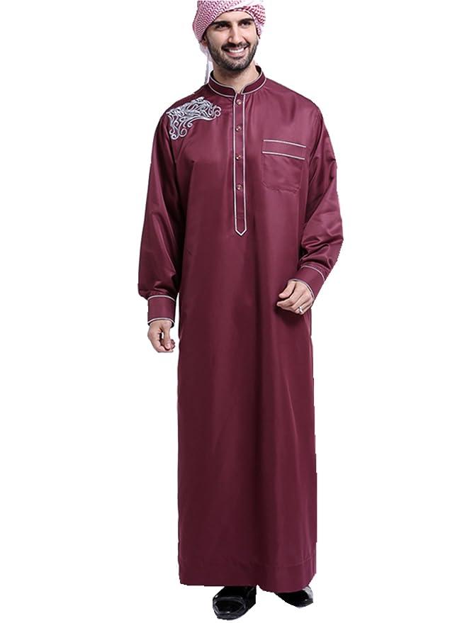 Festlich Robe Muslim Casual Herren Islamisch Männer Türkisch Dreamskull Dubai Muslimisch Indien Arabisch Abaya Kleid Maxikleid Arab Kaftan 8vnwO0mN