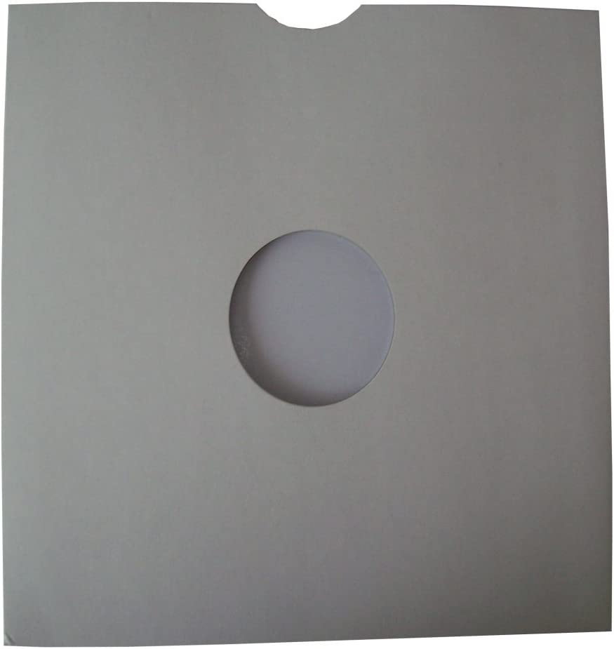 "SLEEVES FREE P/&P^ 100 x 12/""//LP/'s WHITE CARD MASTERBAGS"