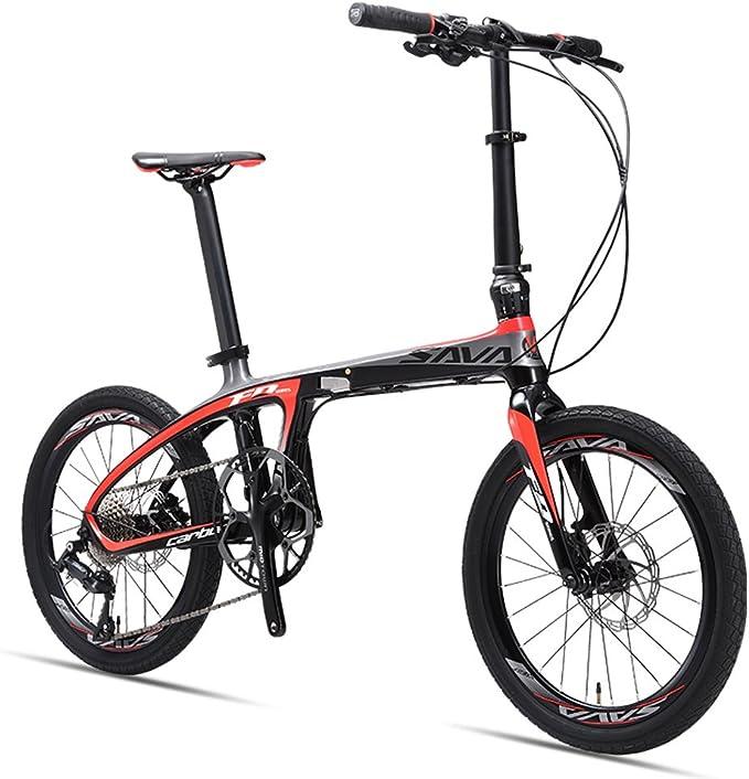 Sava Carbon bicicleta bicicleta plegable bicicleta plegable (.Solo ...