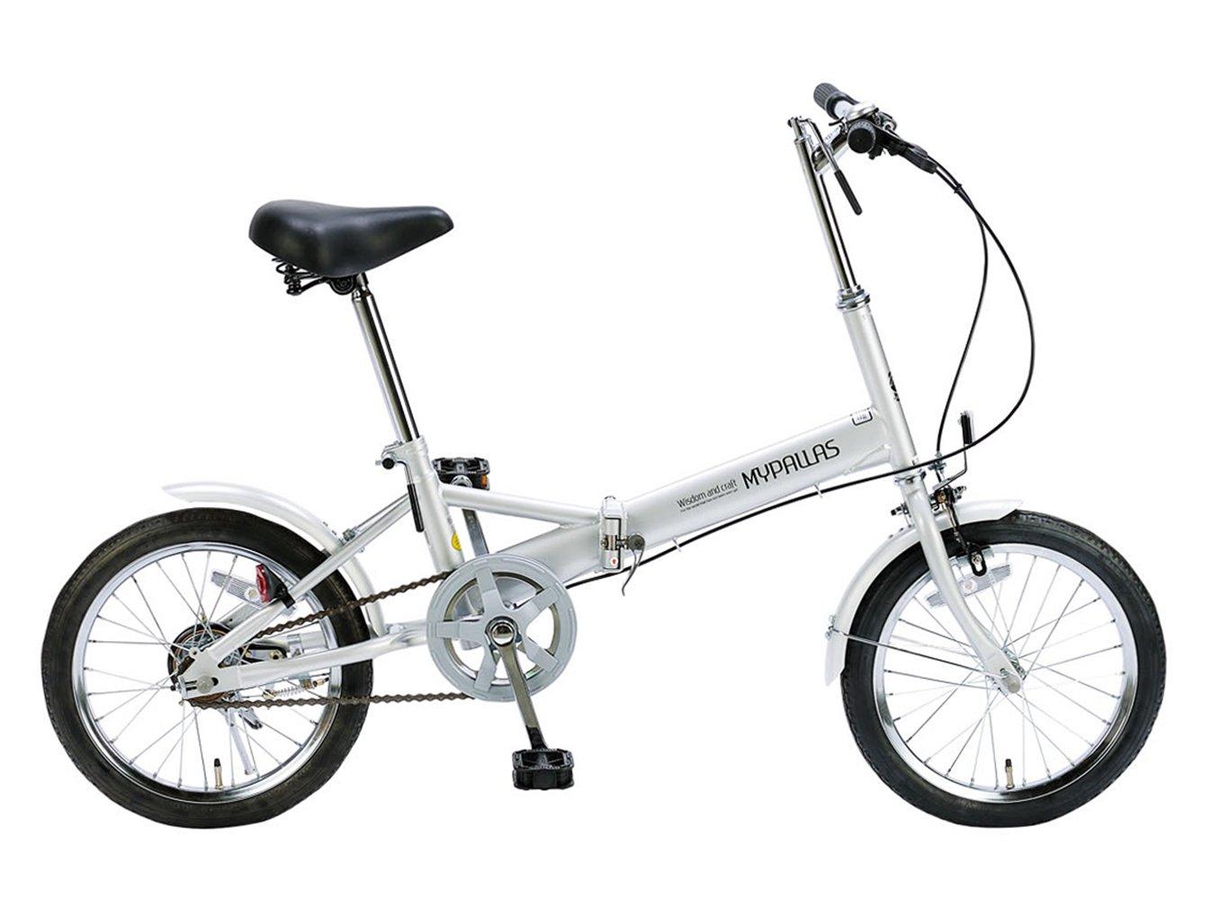 My Pallas(マイパラス) 折りたたみ自転車 16インチ M-101 B001F0X484 シルバー シルバー