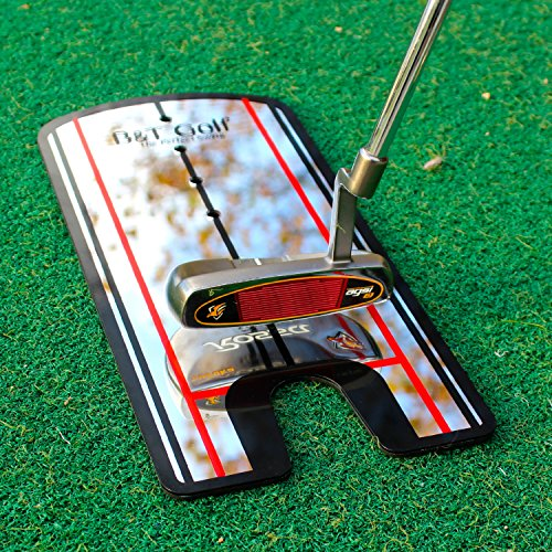 Golf Putting Alignment Mirror Training Aid - Practice Your Putting Alignment Tool by B&T Golf (Image #1)