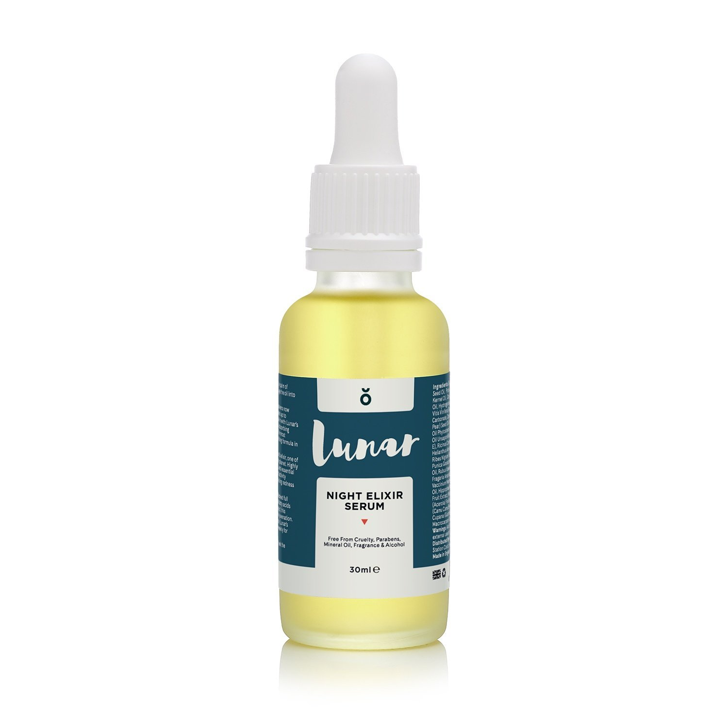 Night Elixir Serum by Lunar Glow. An Anti Aging Night Repair Serum for your Face and Skin - 1 fl.oz / 30ml.