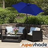 SuperShade Patio Umbrella 11ft. Diam. w/Tilt Alum. Pole
