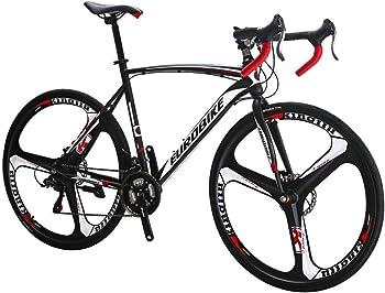 Eurobike Bikes HYXC550 700C Wheels 21 Speed Shifting Road Bike